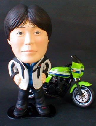 そっくり人形参考作品14-1 バイク
