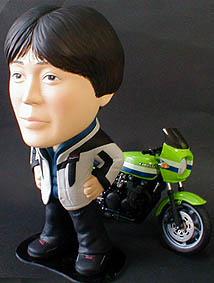 そっくり人形参考作品14-2 バイク