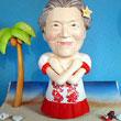 そっくり人形参考作品11ハワイ おばあさんへ