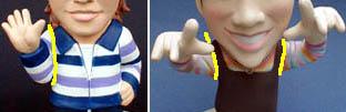 そっくり人形腕オプション