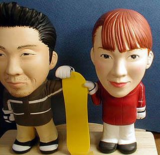 そっくり人形参考作品9-3ウェルカムドール スノーボード