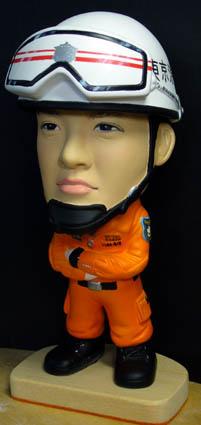 そっくり人形参考作品15-2東京消防庁レスキュー隊