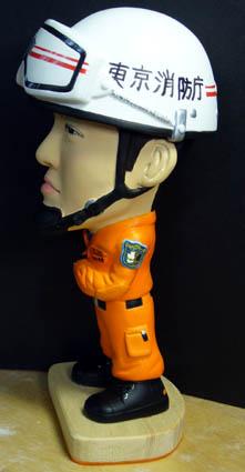 そっくり人形参考作品15-3東京消防庁レスキュー隊