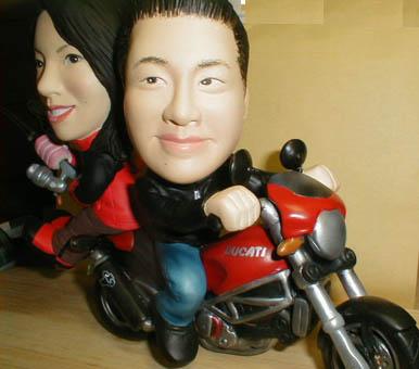 そっくり人形参考作品20ウェルカムドール バイク&釣り