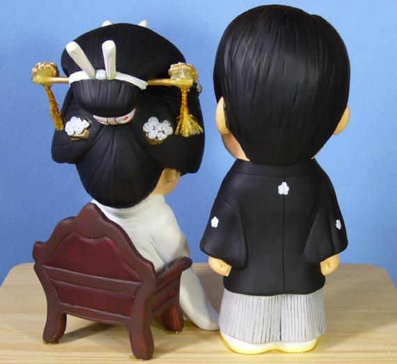 そっくり人形参考作品29-4ウェルカムドール (和装・羽織袴・白無垢)