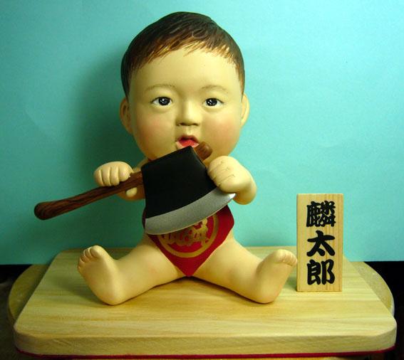 そっくり人形参考作品33-1初節句 金太郎