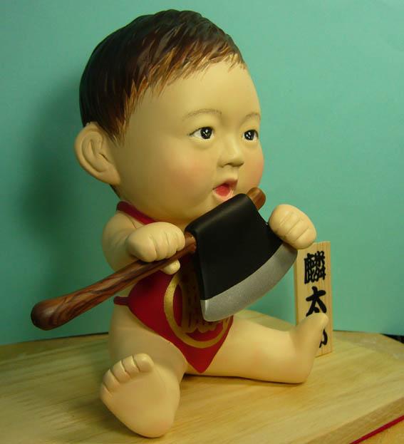 そっくり人形参考作品33-2初節句 金太郎