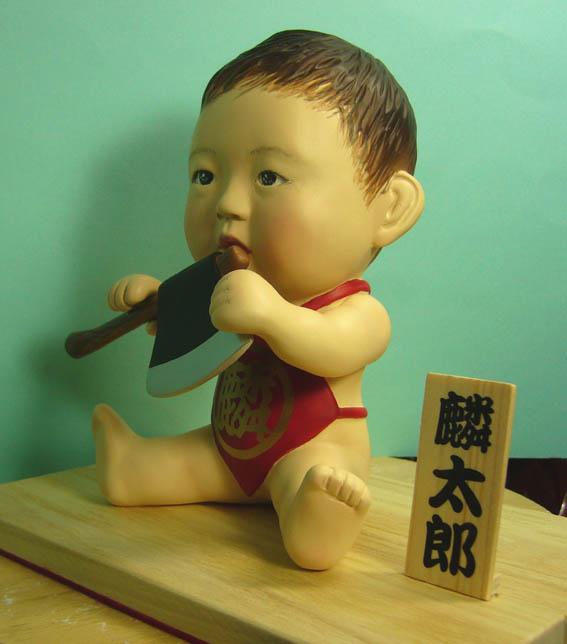 そっくり人形参考作品33-3初節句 金太郎