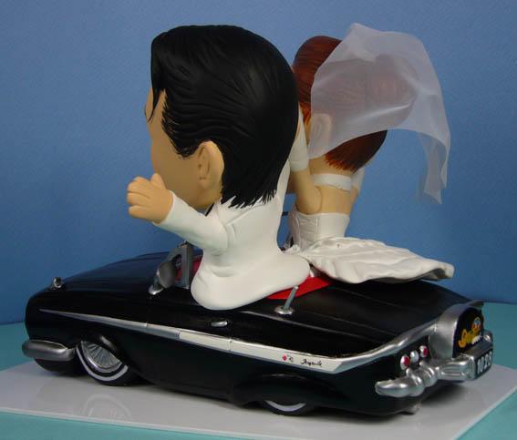 そっくり人形参考作品35-3ウェルカムドール アメ車に乗って