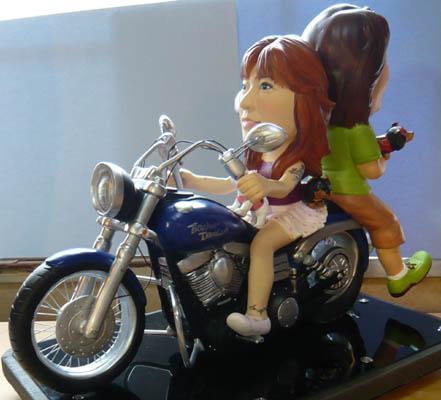 そっくり人形参考作品37-1ウェルカムドール(ハーレーダビッドソン)