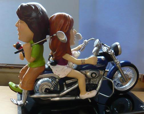 そっくり人形参考作品37-2ウェルカムドール(ハーレーダビッドソン)