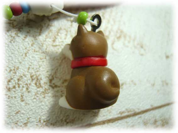 スエード肉球ストラップ・柴犬-3
