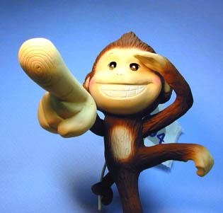 年賀状用オリジナル干支人形-申(猿)-1