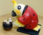 年賀状用オリジナル干支人形-酉(鳥)-1s