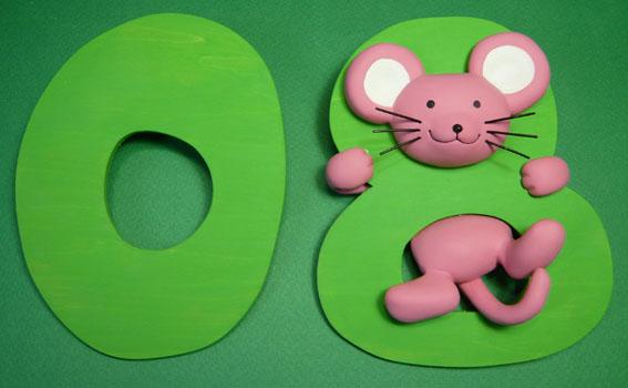 年賀状用オリジナル干支人形-子(ネズミ)-1