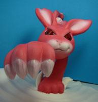 年賀状用オリジナル干支人形-卯(ウサギ)-1