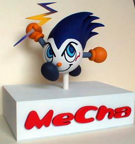 キャラクター人形(フィギュア)メチャ-1