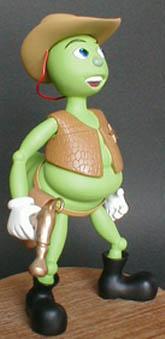 キャラクター人形(フィギュア)AOMUSHI THE KID-3