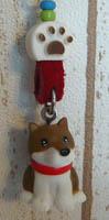 柴犬(マスコット付き)キーホルダー