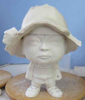初節句・五月人形の制作過程1-3
