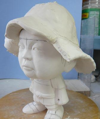 初節句・五月人形の制作過程1-5