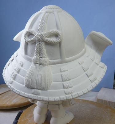 初節句・五月人形の制作過程1-9