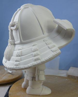 初節句・五月人形の制作過程1-10