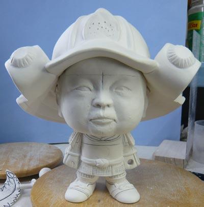 初節句・五月人形の制作過程1-12
