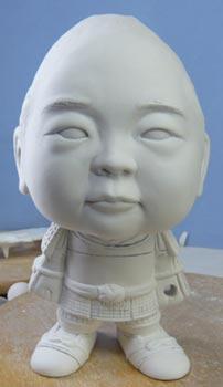 初節句・五月人形の制作過程1-14