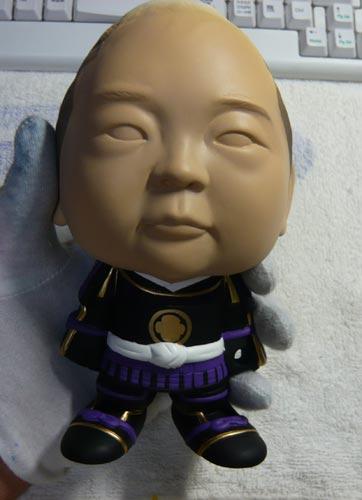 初節句・五月人形の制作過程1-21