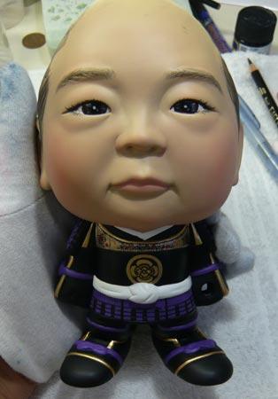 初節句・五月人形の制作過程1-25