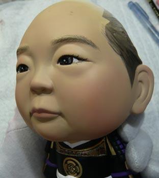 初節句・五月人形の制作過程1-26