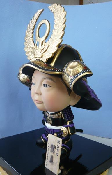 五月人形(初節句・鎧兜)-そっくり人形参考作品例2-3