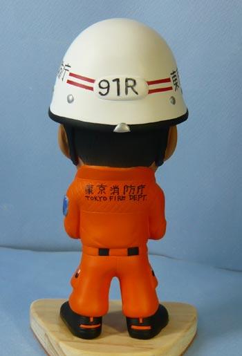 東京消防庁レスキュー隊(異動の記念品)-そっくり人形参考作品例-3-4