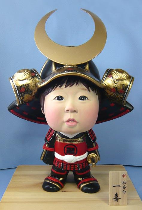 五月人形(初節句・鎧兜)-そっくり人形参考作品例6-1