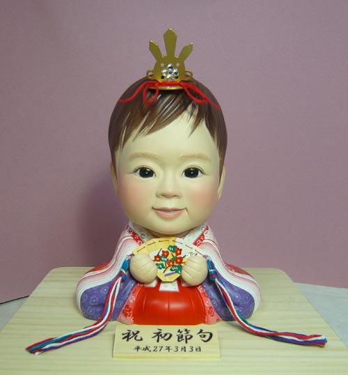 そっくり人形参考作品12-1初節句 ひな人形 十二単