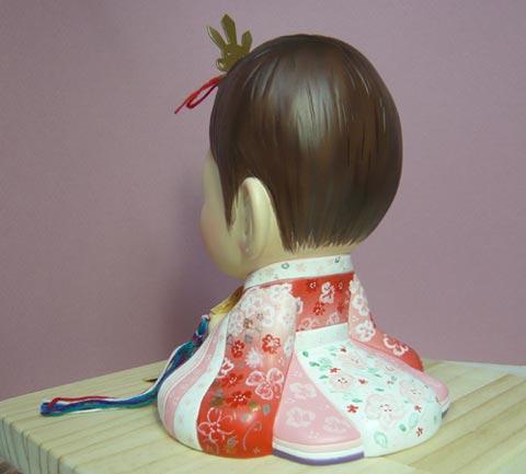 そっくり人形参考作品12-4初節句 ひな人形 十二単