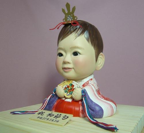 そっくり人形参考作品12-5初節句 ひな人形 十二単