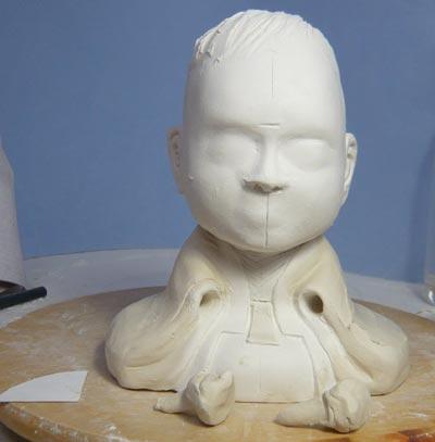 雛人形(ひな人形)制作過程-09
