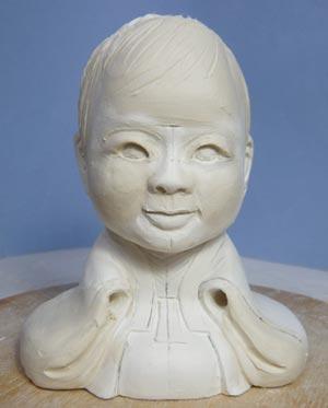 雛人形(ひな人形)制作過程-10