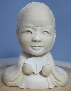 雛人形(ひな人形)制作過程-11