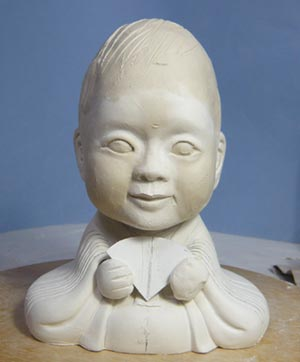雛人形(ひな人形)制作過程-12
