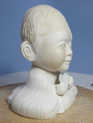雛人形(ひな人形)制作過程-13