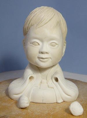 雛人形(ひな人形)制作過程-14
