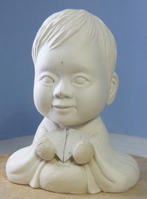 雛人形(ひな人形)制作過程-17