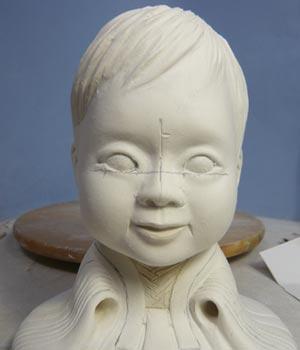雛人形(ひな人形)制作過程-19