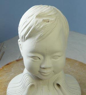 雛人形(ひな人形)制作過程-20