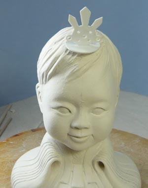 雛人形(ひな人形)制作過程-21