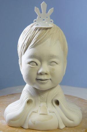 雛人形(ひな人形)制作過程-22