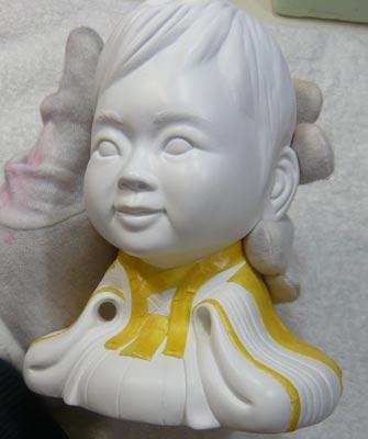 雛人形(ひな人形)制作過程-26